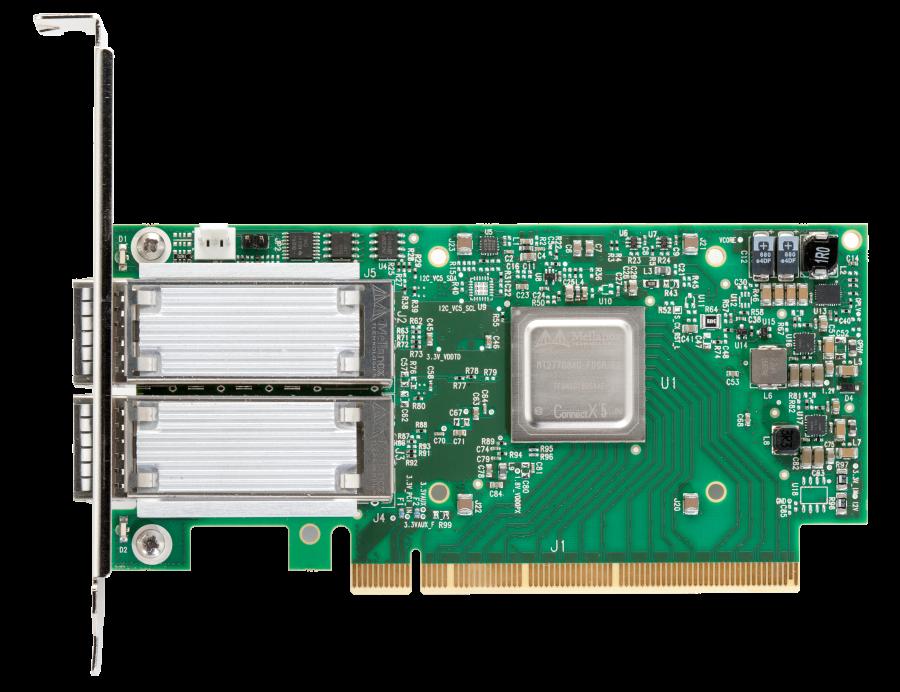 Адаптер 100G Connectx-5 EN Mellanox
