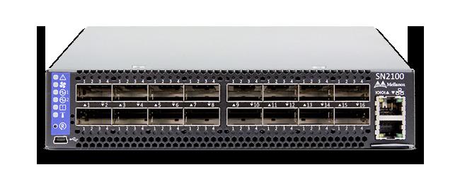 Коммутатор серии SN2100 Mellanox