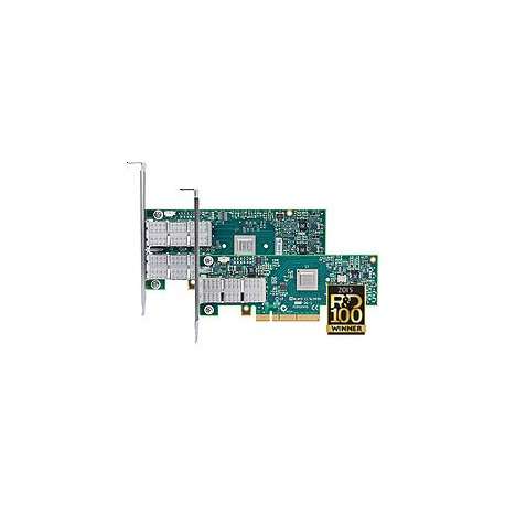 Адаптер Mellanox VPI MCX353A-FCBT ConnectX-3, 1 port QSFP, FDR IB (56Gb/s), 40GbE, PCIe x8 3.0