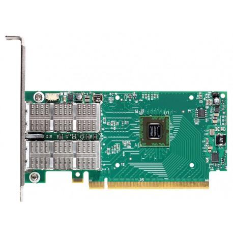 Адаптер Mellanox InfiniBand MCB192A-FCAT Connect-IB, 2 port QSFP, FDR 56Gb/s, PCIe x8 3.0