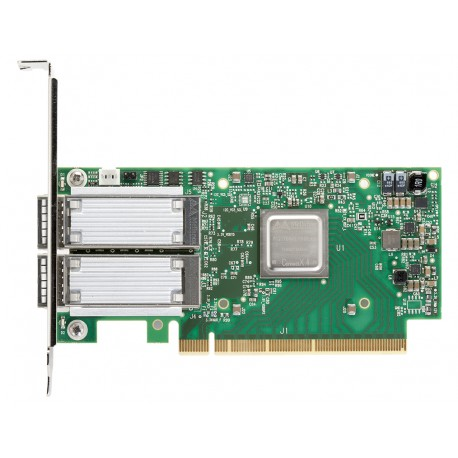 Адаптер Mellanox VPI MCX455A-FCAT ConnectX-4, 1 port QSFP28, FDR IB (56Gb/s), 40/56GbE, PCIe x16 3.0