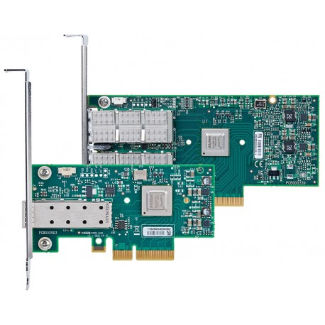 Адаптер Mellanox Ethernet MCX311A-XCAT ConnectX-3, 1 port SFP+, 10GbE, PCIe x4 3.0
