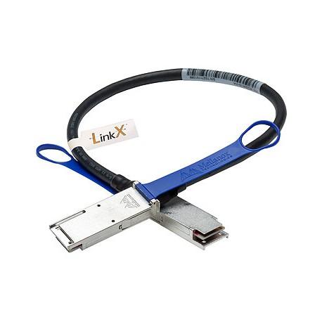 Кабель Mellanox MC2206130-002 VPI UP TO 40GB/S QSFP 2M