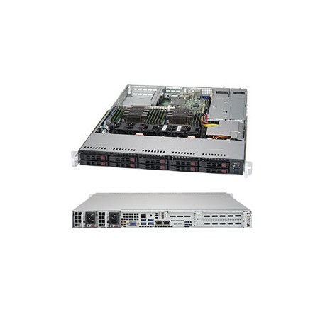 Сервер SMB-Sr 1U 2CPU S9-110212RT