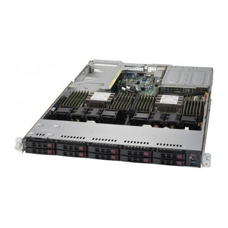 Сервер 1U 2x Intel Scalable 10x HDD Supermicro 1029U-TRT