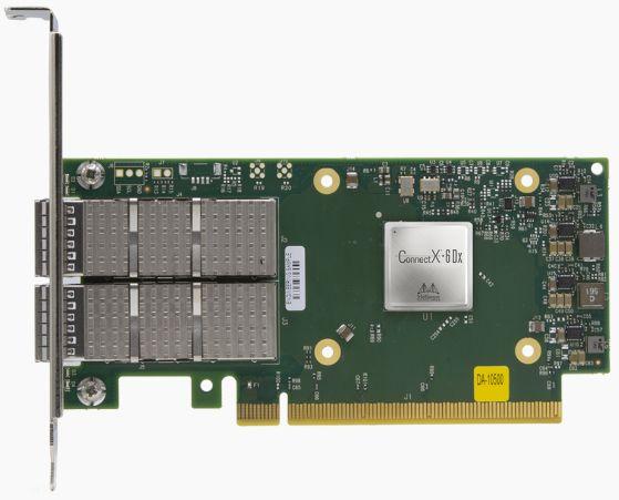 Адаптер Ethernet 100/200Гб/с Connectx-6 Dx Mellanox